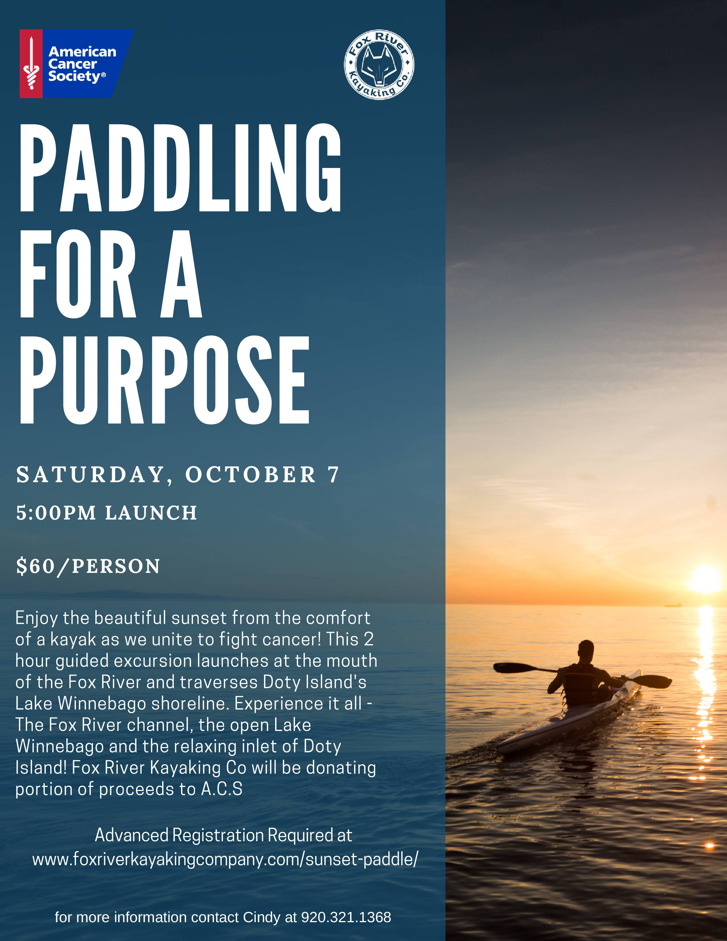 Guest Blog - American Cancer Society - Fox River Kayaking Company