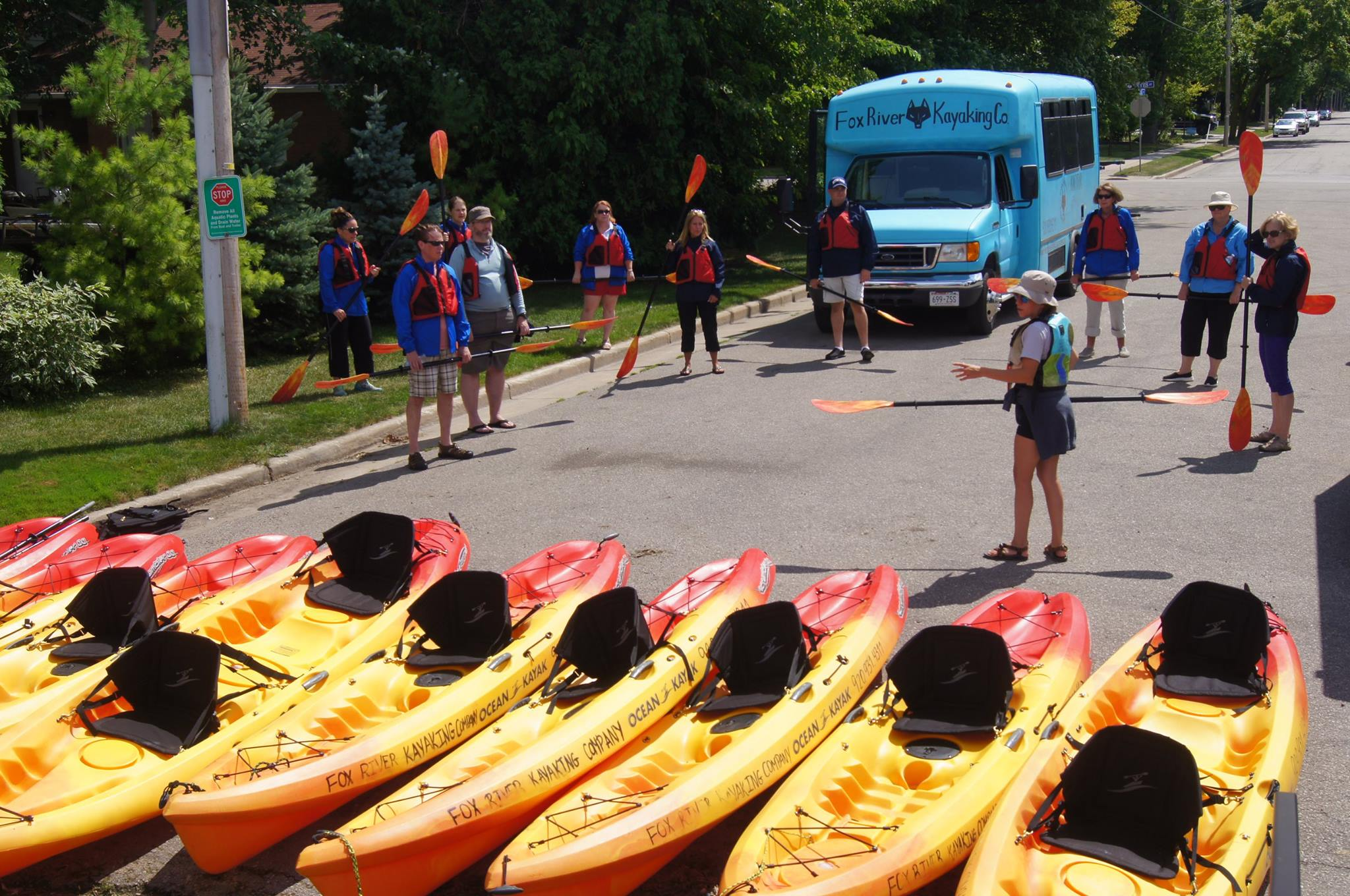Doty Island Paddle - Fox River Kayaking Company